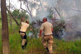 Tras los incendios ilegales, realizan controles en la zona de islas