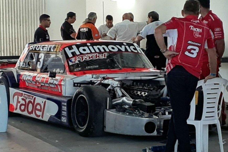 El momento de la verificación del auto de Werner.