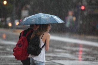 Rigen dos alertas por tormentas fuertes para Entre Ríos