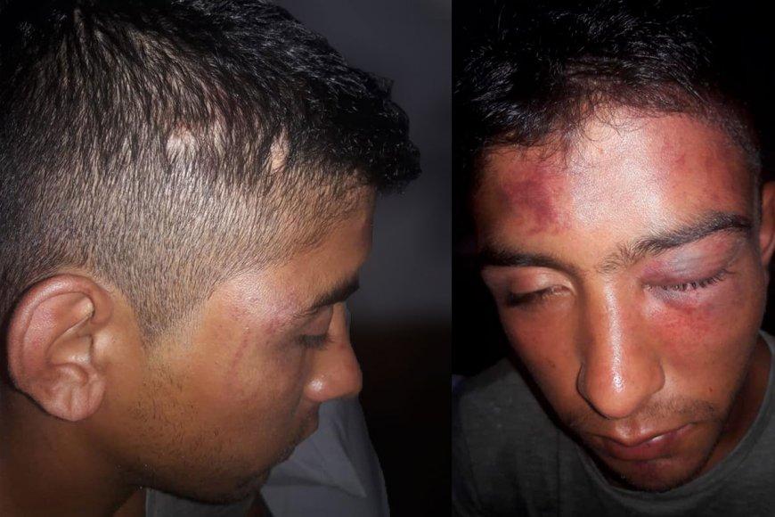 Las fotos publicadas por la denunciante