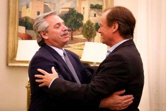 Alberto Fernández firmó con Bordet el crédito internacional para construir el aeropuerto binacional de Concordia