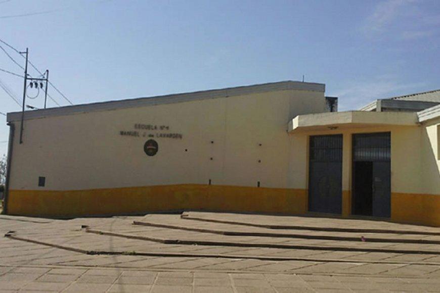 La escuela Lavarden, una de las afectadas.