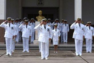 Un entrerriano asumió como comandante en un batallón de la Flota de Mar