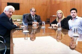 Los tres ejes del encuentro de Carbonell con el secretario de la Unión de Empleados Judiciales de la Nación