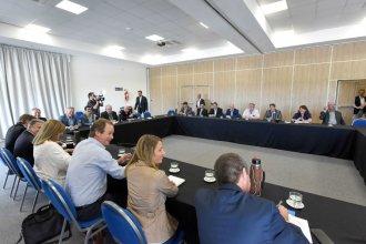 """Bordet se reunió con intendentes de Cambiemos, en pos de """"poner lo mejor de cada uno"""""""