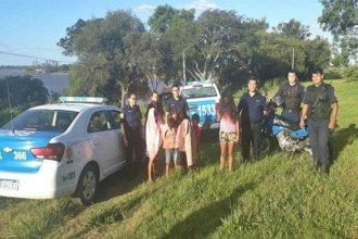 Rescataron a cinco menores que se bañaban en el río Uruguay en una zona correntosa