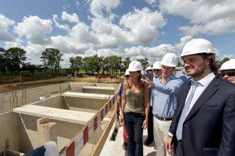 """Benedetto brindó detalles sobre la nueva planta de agua, la obra que """"será uno de los legados más importantes de Bordet"""""""