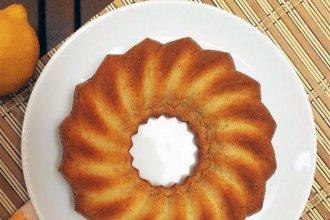 Torta de limón sin azúcar