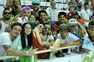 Al Carnaval de Gualeguaychú no se lo perdió ni la hija de Maradona