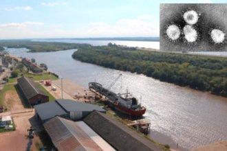 El coronavirus deja a un puerto entrerriano prácticamente inactivo