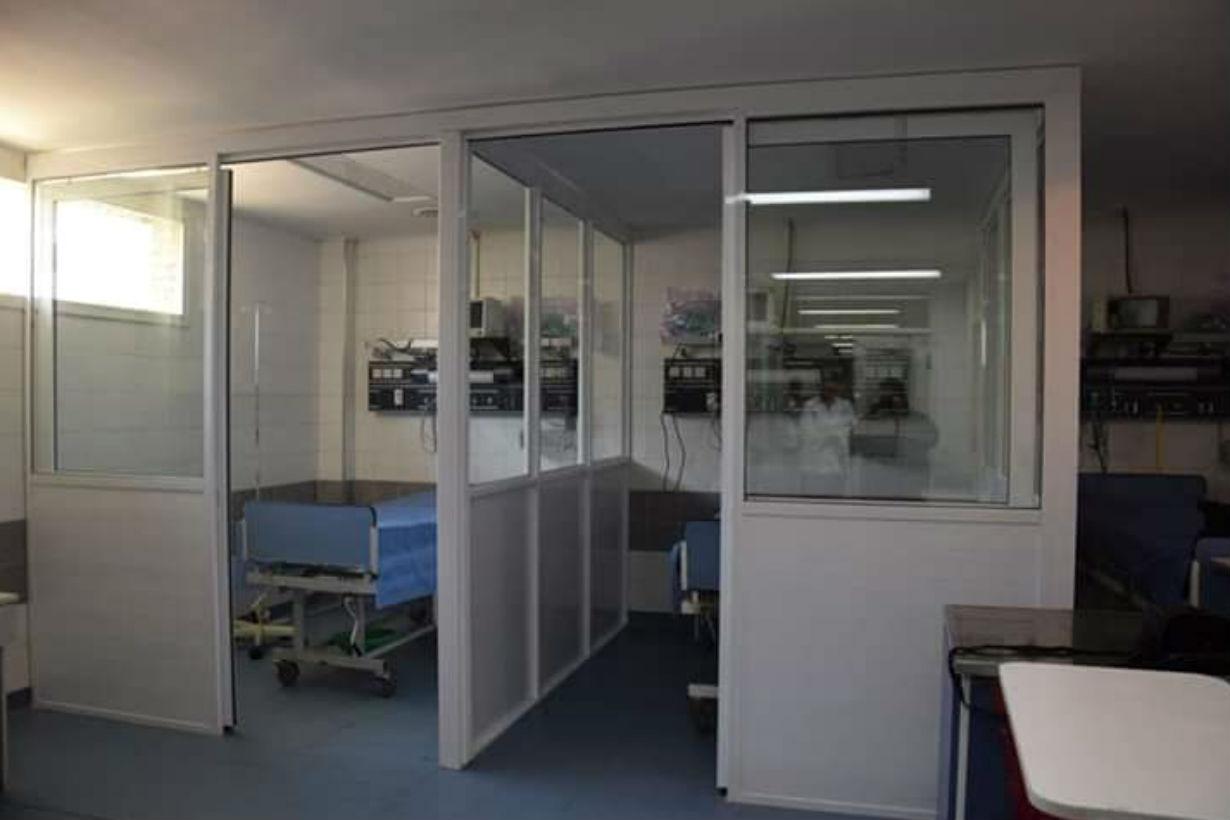 Una de las salas dispuestas en el