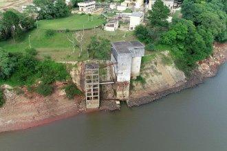 El estiaje del río Uruguay obliga a repetir tareas de mantenimiento y podría cortarse el agua