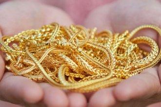Recuperó las joyas de oro que se habían llevado de su casa