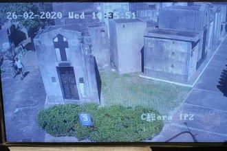 Instalaron 25 cámaras y una sala de monitoreo en el cementerio de Concordia