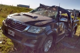 En un lapso de dos horas, se produjeron cuatro accidentes en las rutas 12 y 14