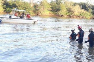 A la altura de Liebig, encontraron sin vida al hombre desaparecido en el río