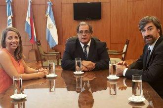 Ley Micaela y Juicio por Jurados, ejes del encuentro que mantuvo el presidente del STJ con Stratta y Giano