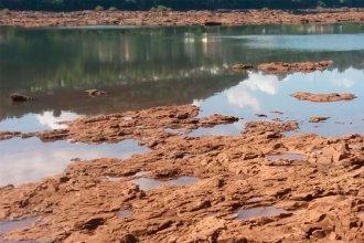 Sorprende la bajante del río Uruguay: En el norte, hay lugares donde casi se puede cruzar caminando