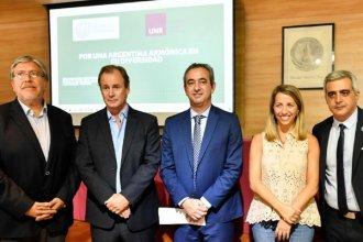 """Bordet y Stratta, presentes en un encuentro del programa """"Argentina Armónica"""""""