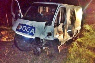 Un animal suelto ocasionó un accidente en la autovía Artigas