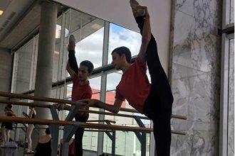 Bailarín concordiense será parte de la escuela del Teatro Colón