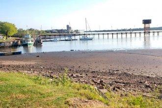 La bajante del Río Uruguay bate récords: 10 centímetros por debajo del cero