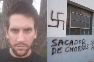 Por realizar pintadas antisemitas en una sinagoga, condenaron a un joven