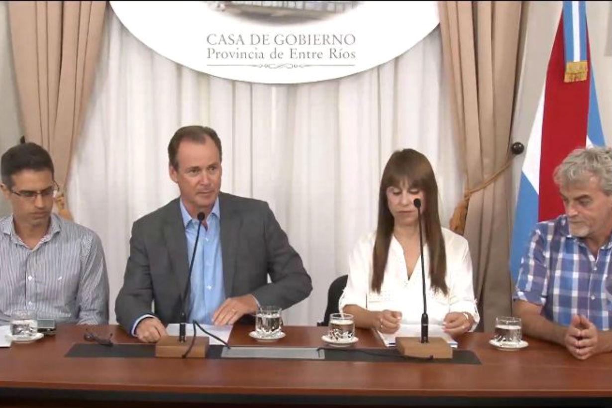 Bordet, en conferencia (foto: captura de video).
