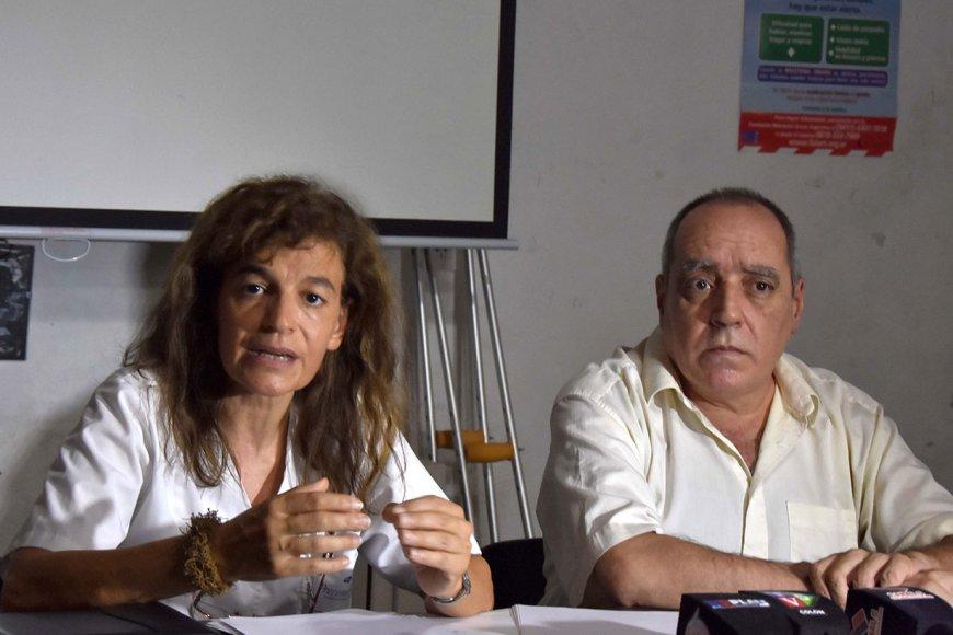 Hernandez e Irigoitía / Crédito Rubén Coman