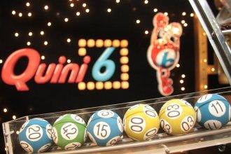 Un entrerriano con suerte acertó los números y ganó 172 millones de pesos en el sorteo del Quini 6