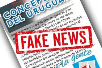 La falsa condonación que se viralizó en un municipio entrerriano, en medio de los anuncios por el coronavirus