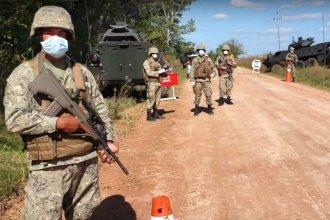 Despliegan un masivo operativo militar para patrullar la frontera, a la vera del río Uruguay