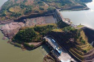 Represa de Brasil suspendió la generación de energía por la extrema bajante del río Uruguay