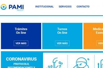 ¿Qué trámites de PAMI podés realizar desde casa para cuidarte del coronavirus?