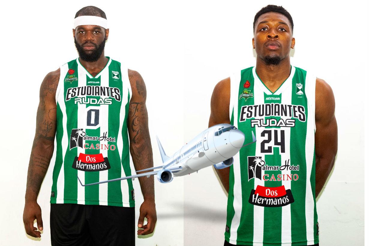 Lufile y Nzeakor volaron de regreso a su país.