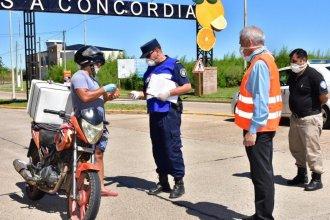 La Municipalidad de Concordia envió un mensaje a los habitantes de localidades vecinas