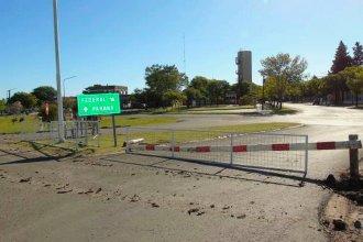 Bloquearon con vallas uno de los accesos a Federal para reducir el flujo proveniente de Brasil