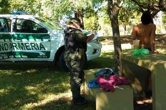 Los detuvieron por incumplir la cuarentena obligatoria y les encontraron cocaína