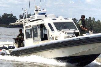 Lanchas con artilleros y drones con cámaras térmicas, destinados a patrullar el río Uruguay