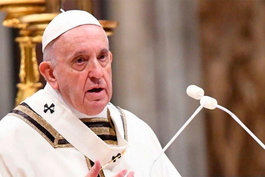 El papa Francisco reza con los cristianos del mundo el Padrenuestro
