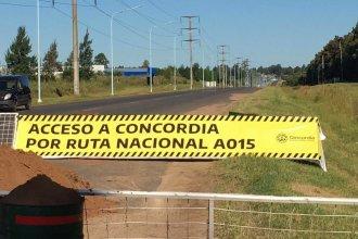 Dirigentes comunales del departamento Concordia se suman al pedido para que Francolini abra los accesos