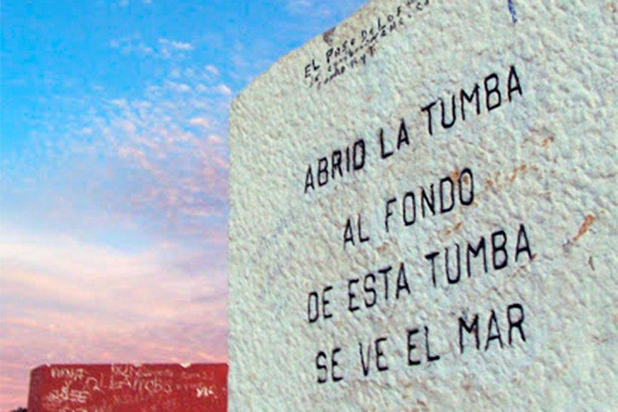 El epitafio de Huidobro