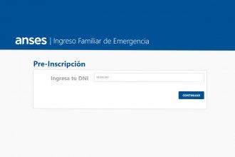 Este viernes comienza la preinscripción para cobrar el ingreso familiar de emergencia