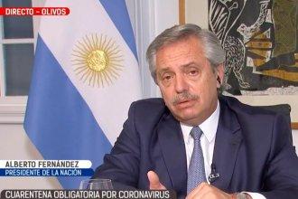 """""""El inicio de clases puede esperar"""", anticipó el presidente Fernández"""