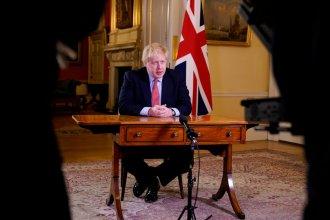 El primer ministro del Reino Unido tiene coronavirus