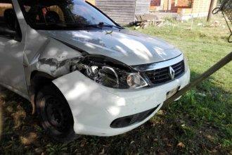 Persecución a bordo de un auto municipal: Robó el vehículo en Concordia y lo detuvieron en San Salvador