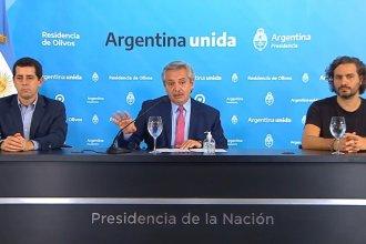 El presidente anunció que la cuarentena se extenderá hasta el 12 de abril