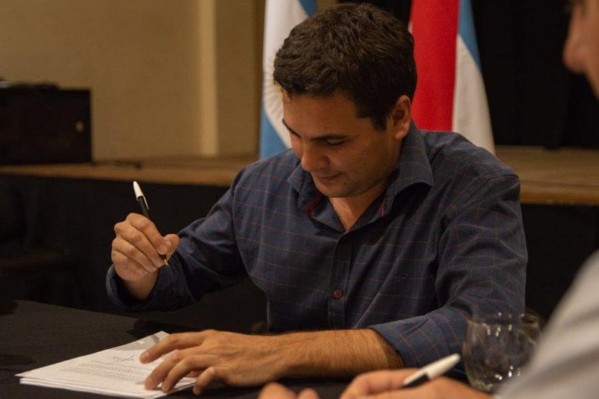 Gustavo Bastian, intendente de San José