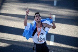 """Atleta entrerriano aporta su """"granito de arena"""" durante el aislamiento social en otra provincia"""
