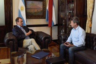 Junto al nuevo ministro de Planeamiento, Bordet detalló cómo avanzan las obras en hospitales